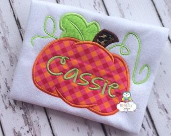 Pink, Orange and Leopard Print Pumpkin Shirt or Bodysuit, Girl Pumpkin Shirt, Pumpkin Shirt, Fall Pumpkin Shirt, Pumpkin Patch Shirt
