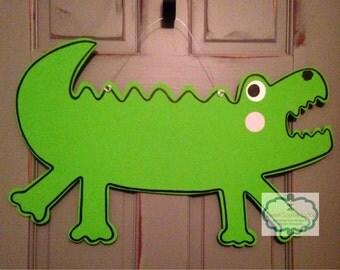 Crocodile Door Hanger