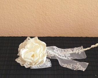 Wedding Decor for the table, fabric flower for the table, Table decoration wedding