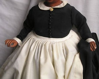 Franklin Mint Porcelain Gone with the Wind Mammy Doll