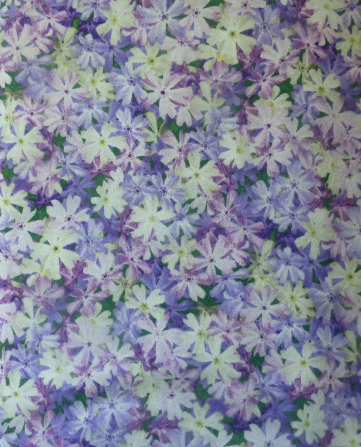 Cotton Fabric Quilt Home Decor Floral by SuesFabricNSupplies