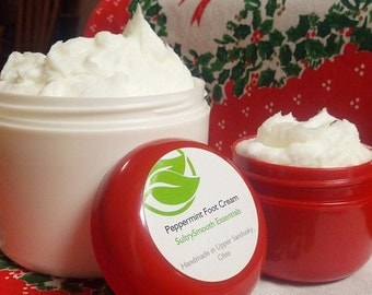 Whipped Peppermint Foot Cream