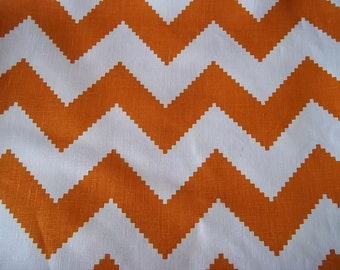 Persimmon, Chevron Home Decor Fabric