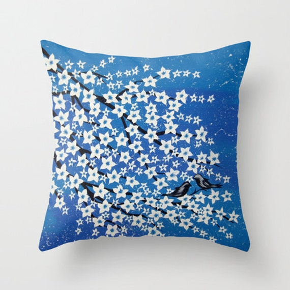 turquoise throw pillow turquoise art blue and white pillow