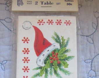 Heines 8 Christmas Tally Cards