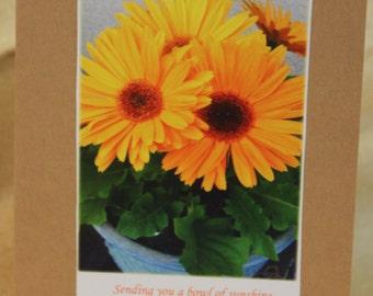 Five Pack Bowl of Sunshine card