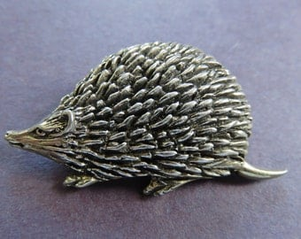 JJ Jonette Adorable Hedgehog Brooch Pin