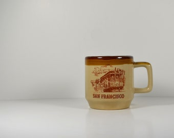 Vintage San Francisco Coffee Mug