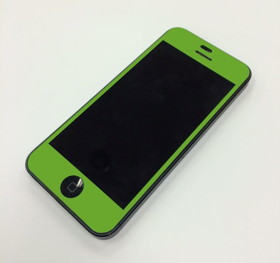 Lime Green iPhone Fron...