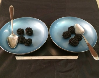 Reed & Barton Bowls / Silverplate and Mid-Mod Colors