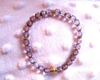 SWD-GB5400 Purple Sweetheart Bracelet
