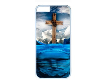 Jesus On Water Cross Case for iPhone 4 4s 5 5s 5c  6 6s 6 Plus iPod Touch case