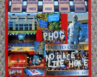 Kansas Jayhawks Allen Fieldhouse Collage