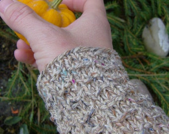 Mittens made of recycled fibers