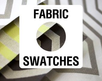 Fabric Swatches. Choose up to 4