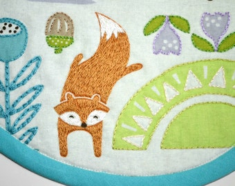 Baby Bibs with Cute Forest Critters