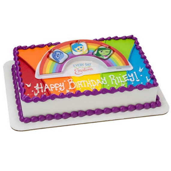 Inside Out Full Of Emotions Cake Topper Kit Birthday Party