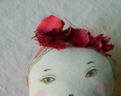 I go to the sea, rag doll, doll to the sea, doll costume, ,art dolls,cloth dolls,fabric dolls