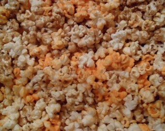 TRIO MIX! Caramel Corn, Butter Popcorn and Cheddar Cheese Popcorn Mix!!! (1 lb)