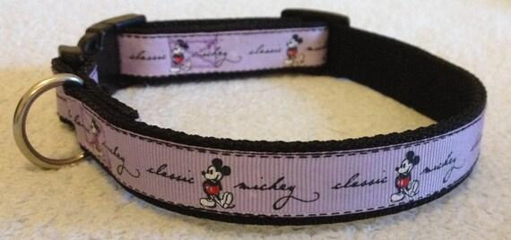 Mickey Mouse Dog Collar Uk