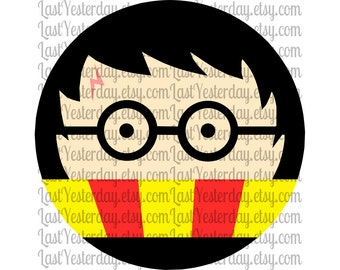 Harry Potter Circle DIGITAL DOWNLOAD svg dxf jpg png