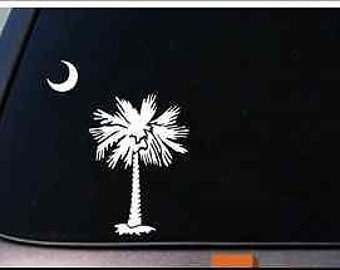 "South Carolina 6.5"" Sticker Decal Vinyl Car Truck Van Laptop Window *D627*"