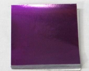 Purple Candy Foil Wrappers Confectionery Foil 125 count