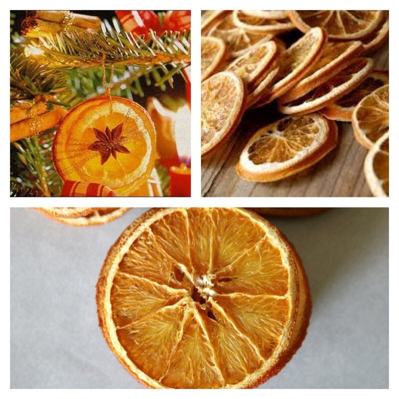 15 dried orange slices decoration ideal for christmas for Baking oranges for christmas decoration