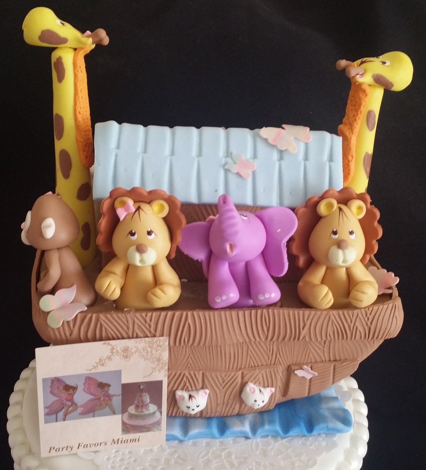 Noahs ark decoration noah 39 s ark shower noah 39 s ark for Noah s ark decorations