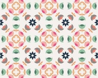 Curiosities Heritage Medals Klar  - Fabric by Jeni Baker for Art Gallery Fabrics 0.5m length