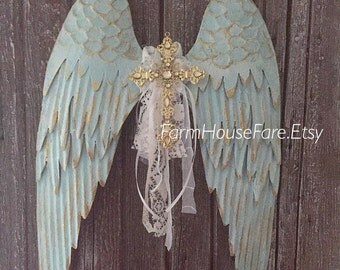 Angel Wings Wall Decor Nursery Wall Decor French Wall Art Nordic Home Decor
