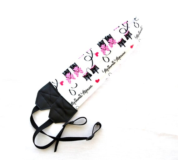 Minnie Mouse Signature and Heels dSLR Complete Camera Strap! Standard ...