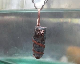 Copper Kyanite Necklace
