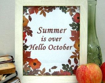 Fall Wall Decor autumn wall art | etsy