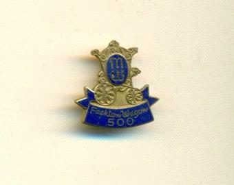 Vintage Fashion Wagon Representative Pin