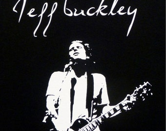Jeff Buckley t shirt S M L or XL Message with size choice.