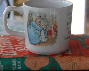 Wedgewood Beatrix Potter Vintage Peter Rabbit mug