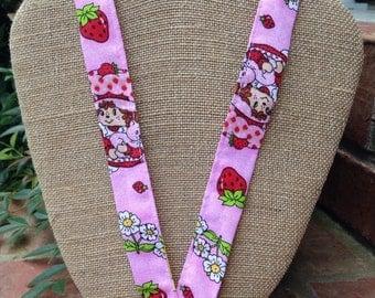 Berry Sweet. Strawberry Shortcake Lanyard