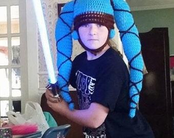 Star Wars inspired Twi'lek Hat Size Teen/Small Adult