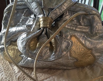 80s Donny leather handbag