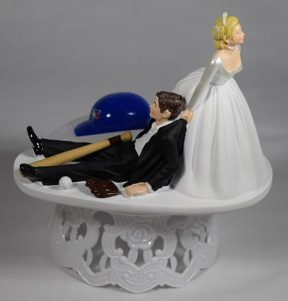 custom wedding cake toppers toronto handmade wedding cake topper mlb themed by creationsbydhyani 13261