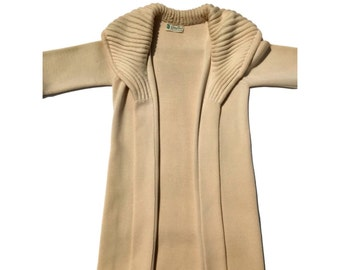 Gino Paulo Long Open Front Cardigan Jacket