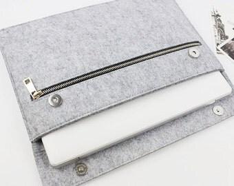 "felt Macbook Air 11.6"" sleeve, Macbook 11.6"" case, Macbook Air Sleeve, Macbook Air 11.6"" case, Laptop case, Laptop sleeve, macbook case 232"