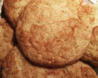 Soft Snickerdoodle Cookies DOZEN