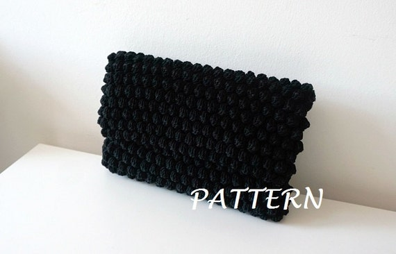 Crochet Evening Bag Pattern : Crochet Bag Pattern crochet purse pochette pattern woman bag, evening ...