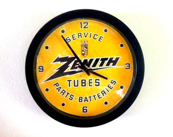 Zenith Service Tubes Parts Batteries Analog Wall Clock