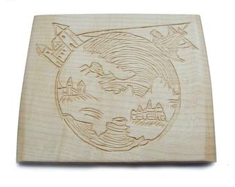 SHIP & WORLD | Carving