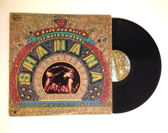 20% OFF SALE Vinyl Record Sha Na Na Rock and Roll Is Here To Stay LP Album 1973 Teen Angel Book of Love