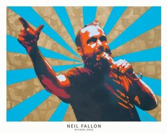 Neil Fallon Print