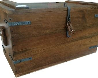 Authentic Reproduction of Gen. Robert E.Lee's Civil War Camp Chest